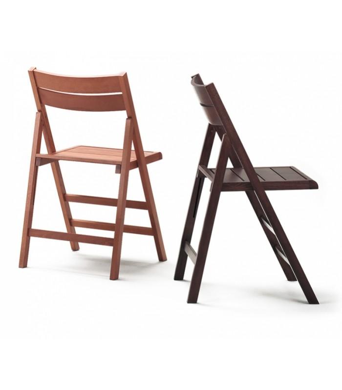 Brianzastore sedia pieghevole 432 robert vari colori for Sedie pieghevoli legno