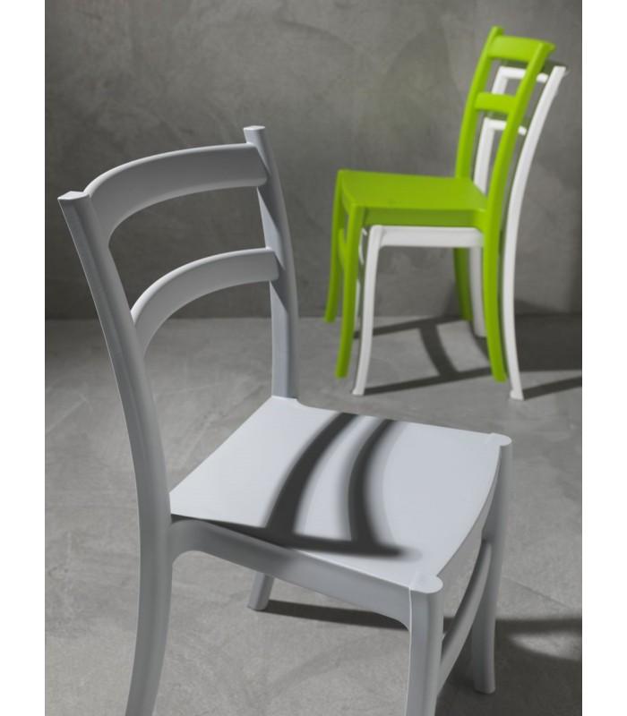 Brianzastore sedia 053 venezia polipropilene vari colori for Offerte sedie moderne
