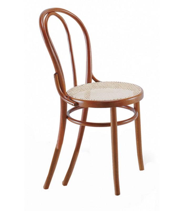 sedia thonet vienna in paglia e legno