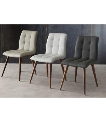 sedia 130 Finland ecopelle e legno