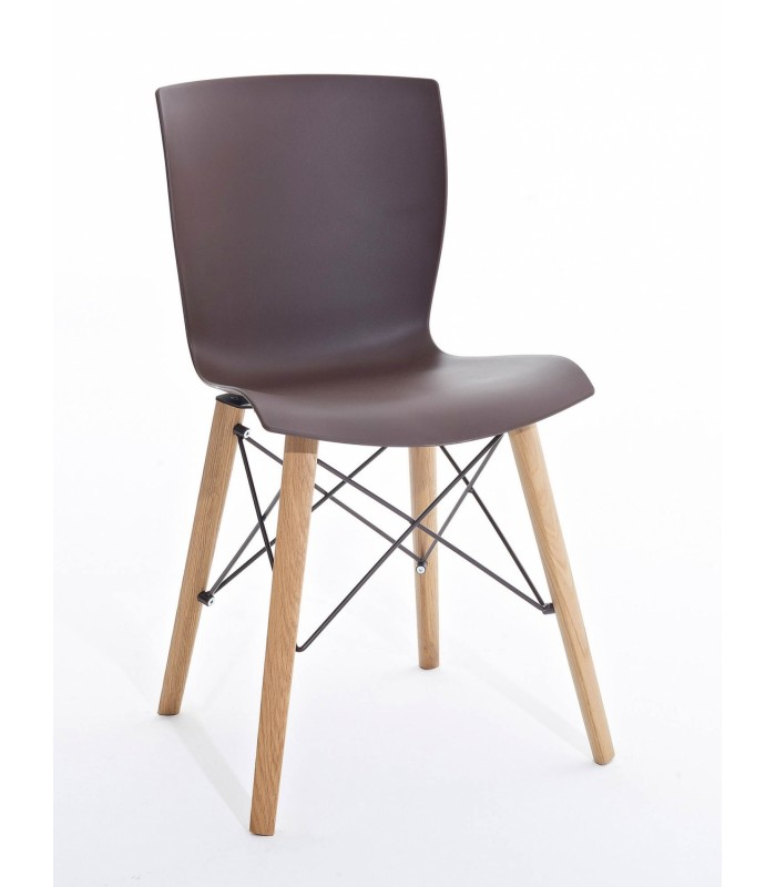 Sedia colico design rapwood for Sedia design nordico
