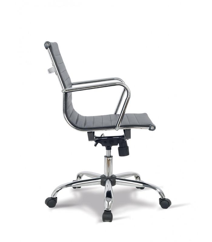 Poltrona ufficio o casa lab ecopelle for Poltrona scrivania design