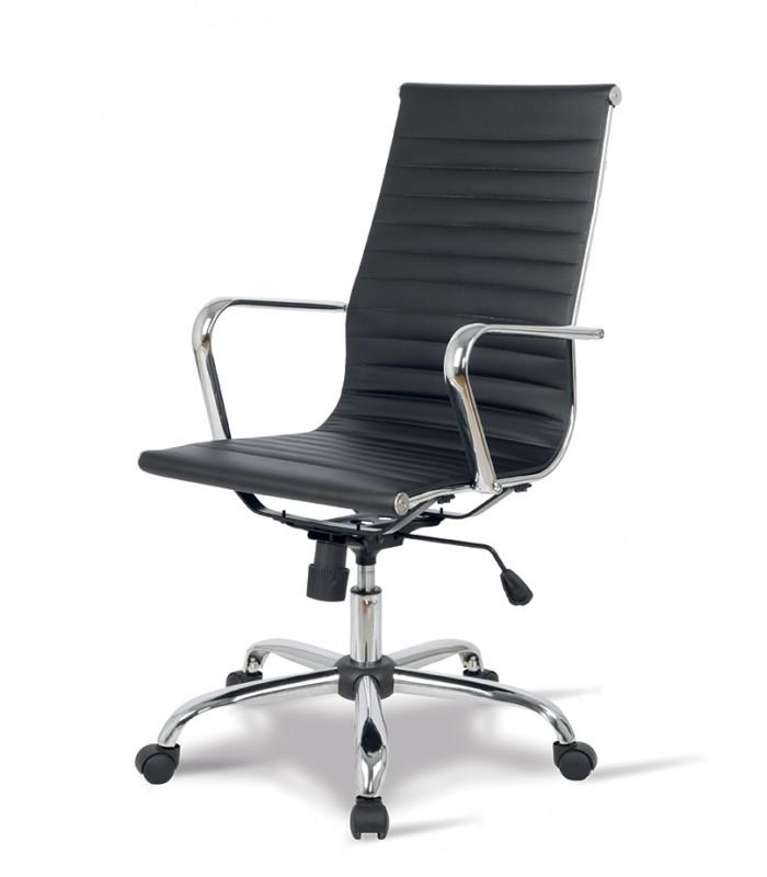 Sedia ufficio o casa lab ecopelle for Design sedia ufficio