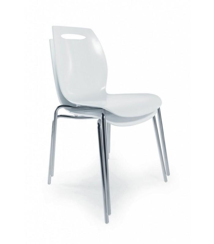 Sedia bip colico design tecnopolimero for Colico design sedie