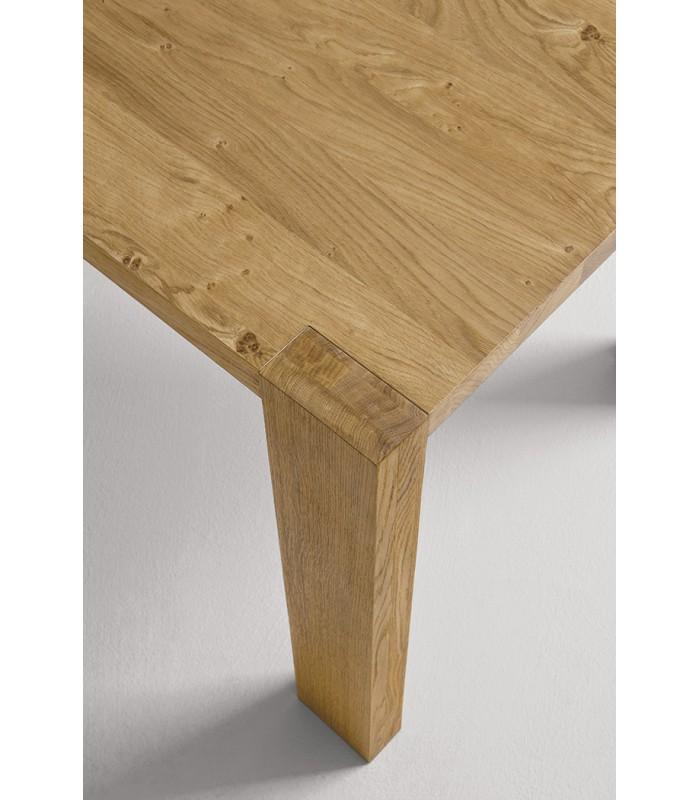 Tavolo in legno massello marvel brianza store - Tavolo richiudibile in legno ...