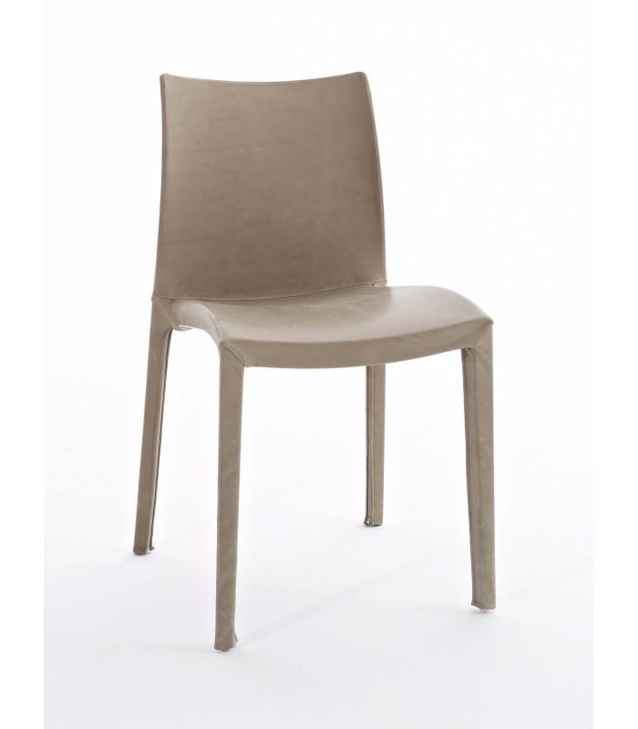 Sedia sun colico design ecopelle o vera pelle for Colico design sedie