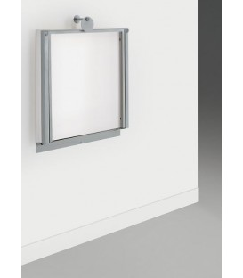 Tavolo allungabile ermes bianco poro aperto - Tavoli ribaltabili a parete ...